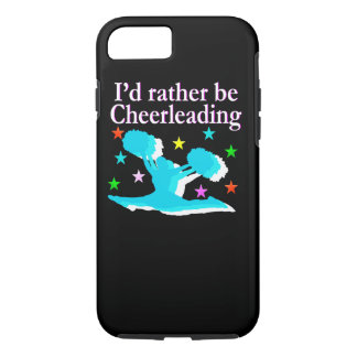 BLUE RATHER BE CHEERLEADING DESIGN iPhone 7 CASE