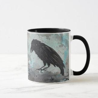 Blue Raven Mug