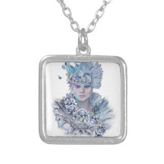 Blue Raven Silver Plated Necklace