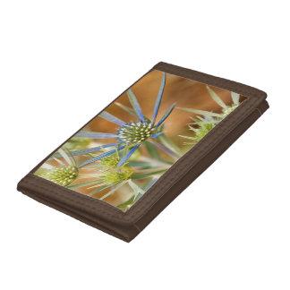 Blue rays tri-fold wallet