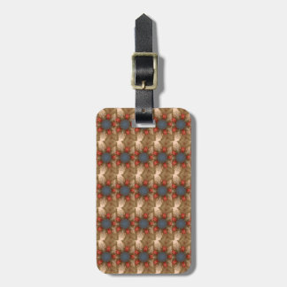 Blue Red Christmas Decoration Baubles Luggage Tag