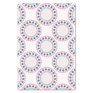 Blue/Red Circles Tissue Paper