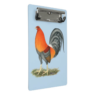 Blue Red Gamecock Mini Clipboard
