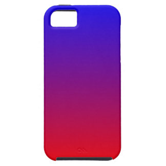 Blue Red Gradient iPhone 5 Case