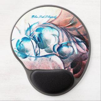 Blue Red Rhapsody by Robert E Meisinger Gel Mouse Mats