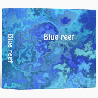 blue reef 3 ring binders
