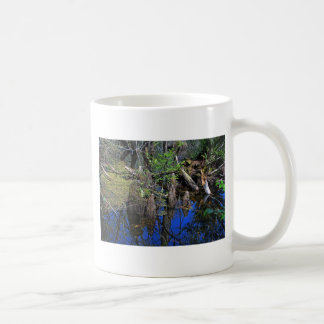 Blue Reflections in the Slough Coffee Mug