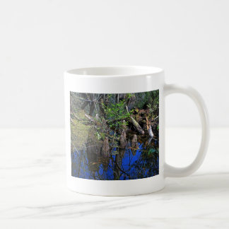Blue Reflections in the Slough (Fort Myers, FL)- F Coffee Mug