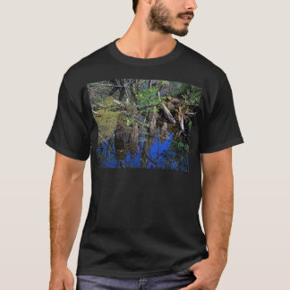 Blue Reflections in the Slough (Fort Myers, FL)- F T-Shirt
