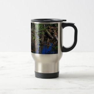 Blue Reflections in the Slough Travel Mug