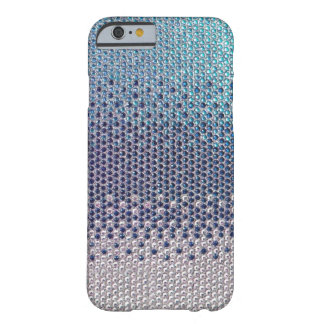 Blue Rhinestone Glitter Bling iPhone 6 case Barely There iPhone 6 Case