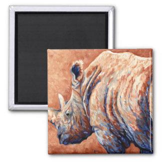 Blue Rhino Square Magnet
