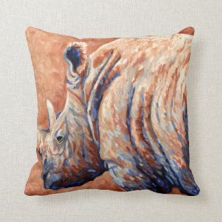 Blue Rhino Throw Pillow