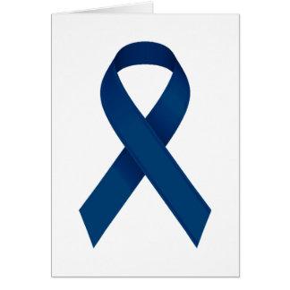 Blue ribbon card