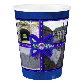 Blue Ribbon Gems Template Paper Cup