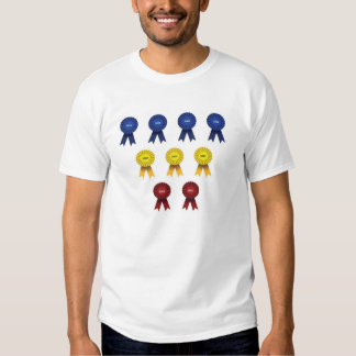 Blue ribbons - up to 2015 t-shirt