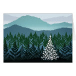 Blue Ridge Christmas greeting card