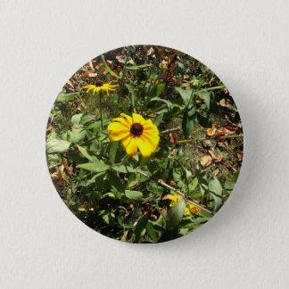 Blue Ridge Flowers 2 Inch Round Button