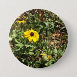 Blue Ridge Flowers 3 Inch Round Button
