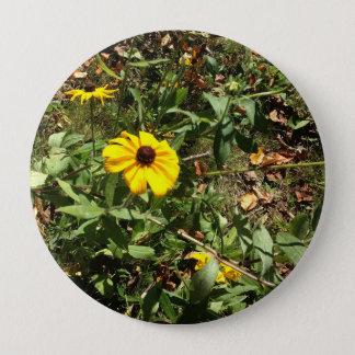 Blue Ridge Flowers 4 Inch Round Button