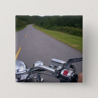 Blue Ridge Motorcycle Ride 3 2 Inch Square Button