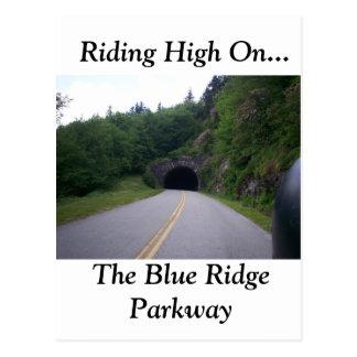Blue Ridge Motorcycle Ride 9 Postcard