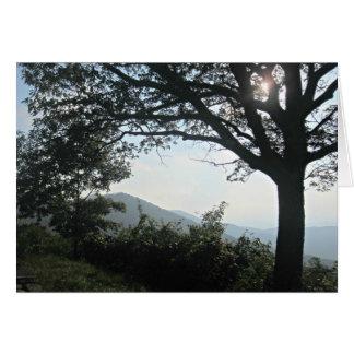 Blue Ridge Mountains Greeting Cards