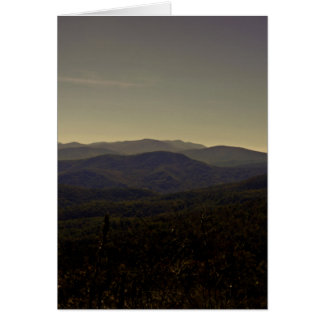 Blue Ridge Mountains Greeting Card