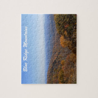 Blue Ridge Mountains Jigsaw Puzzle