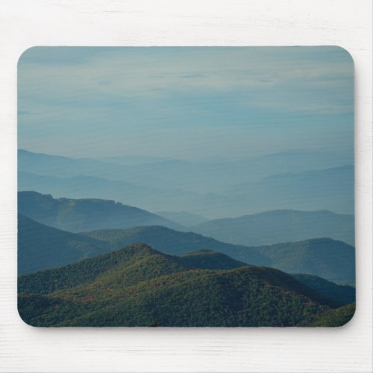 Blue Ridge Mountains Mouse Pad
