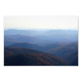 Blue Ridge Mountains, North Carolina Photo Print