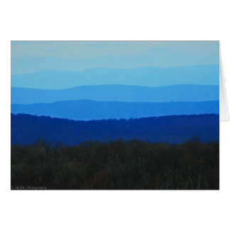 Blue Ridge Mountains Note Cards