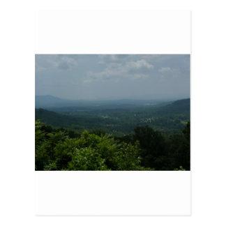 Blue Ridge Mountains Postcard