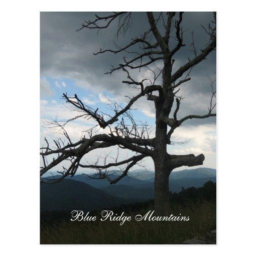 blue ridge mountains postcards