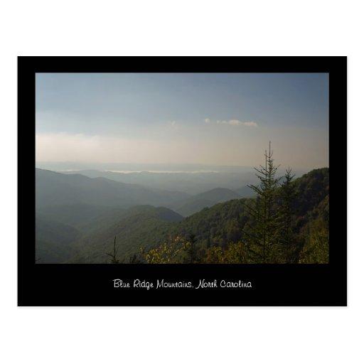 Blue Ridge Mountains Post Card