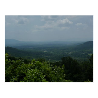 Blue Ridge Mountains Postcard