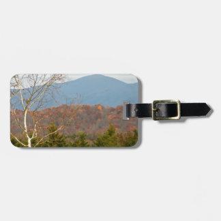 Blue Ridge Mountains VA Landscape Photo Shenandoah Bag Tag