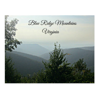 Blue Ridge Mountains Virginia Postcards