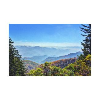 Blue Ridge Parkway Canvas Print