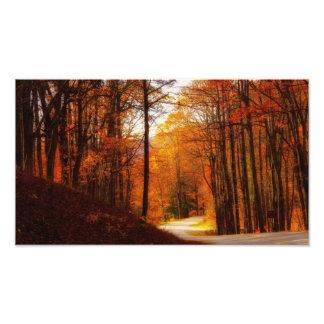 Blue Ridge Parkway Fall Photo Print