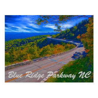 Blue Ridge Parkway NC Postcard
