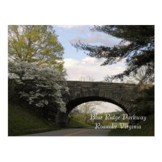 Blue Ridge Parkway Postcard