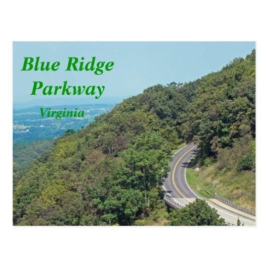 Blue Ridge Parkway - postcard