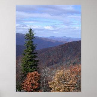 Blue Ridge, Photography byEllenetta Marshall2006 Poster