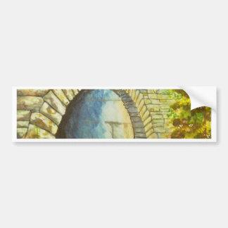 Blue Ridge Tunnel Bumper Sticker