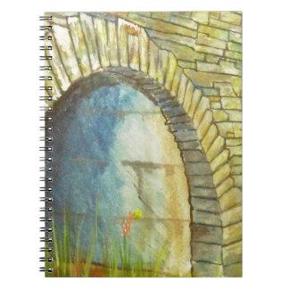 Blue Ridge Tunnel Spiral Notebook