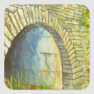 Blue Ridge Tunnel Square Sticker