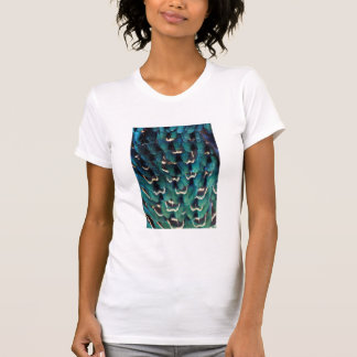 Blue Ring-necked Pheasant feather T-Shirt