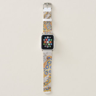 Blue Ring Octopus Map Apple Watch Band