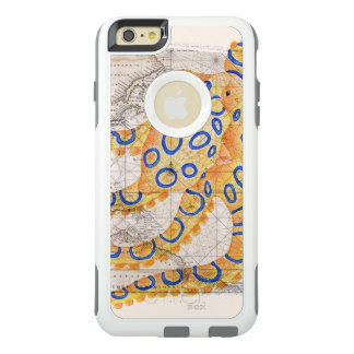 Blue Ring Octopus Map OtterBox iPhone 6/6s Plus Case
